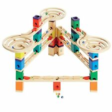 Hape Quadrilla Wooden Marble Run Construction System, Vertigo