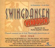 VARIOUS ARTISTS - SWINGDANSEN VERBODEN (2001 CD COMPILATION NIKKELEN NELIS)