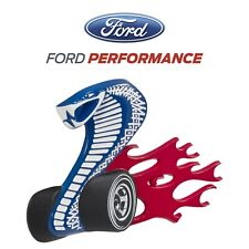 2008 Ford Performance OEM Metal Cobra Jet Front Grille Emblem M-16098-CJG