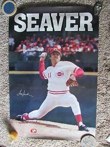 1970's Cincinnati Reds Tom Seaver Poster SGA