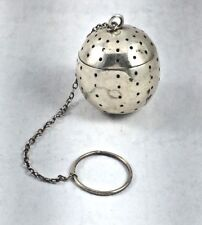 "Blackinton Sterling Tea Ball # 4812 - 1 1/4"" Diameter"