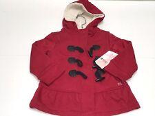 Roxy Girls Kids Toddler New TEENIE WAHINE TOGGLE-FRONT COAT Sz: 2 RTL: $106 P559