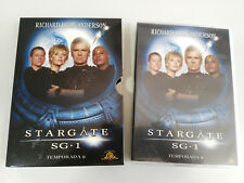 STARGATE SG 1 SEXTA TEMPORADA 6 SERIE TV 6 X DVD + EXTRAS ESPAÑOL ENGLISH