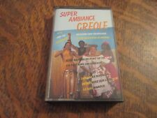 cassette audio super ambiance creole les dom-tom