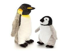 PLUSH  EMPEROR PENGUINS 30cm MOTHER OR 20cm BABY OR BOTH BY KEEL TOYS