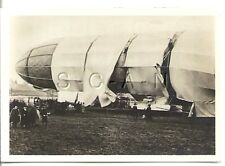 WWI Original German Real Photo- Cigarette Card- Zeppelin- Exp Airship LZ 2