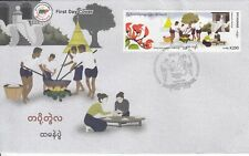 Myanmar 2019 Htamane Festival official first day cover