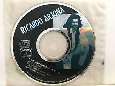 CD SINGLE 1-TRACK PROMO / RICARDO ARJONA /REALMENTE NO ESTOY TAN SOLO /Pre-Owned