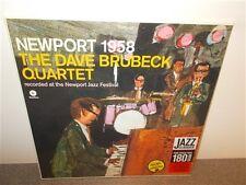 * The Dave Brubeck Quartet . Newport 1958 . 180 Gr. New Sealed . Jazz . LP