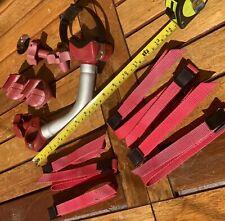 Fiamma Bicicleta Pro + Parts + 7 correas de cierre de leva poste libre