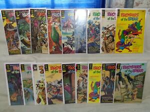 Brothers of the Spear 1-18 COMPLETE SET 1972-1982 Gold Key Comics (s 11988)