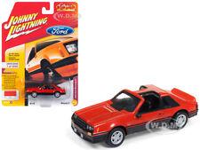 "1982 FORD MUSTANG GT BRITE ORANGE ""CLASSIC GOLD"" 1/64 JOHNNY LIGHTNING JLSP013 A"