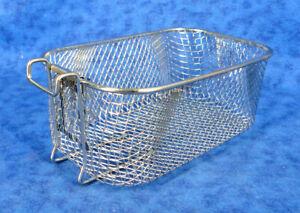 FARBERWARE 201639 Electric 4L Dual Deep Fryer Small Frying Basket (No Handle)