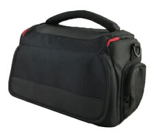 Large DSLR Camera Shoulder Bag Case For Nikon D5500 D5300 D5200 D5100 (Black)