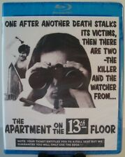 The Apartment on the 13th Floor aka Cannibal Man Blu-ray (Code Red) Video Nasty