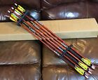 """(12) Rose City Orford Cedar 3S EXTREME ELITE 5/16"""" PAINTED MATCHED Arrows < 30#"""