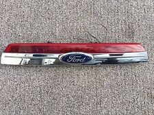 2010-2012 FORD FUSION REAR CHROME PANEL WITH BACK UP CAMERA BRAKE LIGHT OEM
