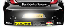 Ford  Focus PAIR Number Plate Camera Flash and Damage Protection by PlateGuard