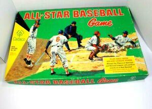 VIntage 1966 Cadaco All Star Baseball MLB Board Game No 183 Game 60 Discs