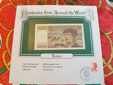 World Banknotes France 20 Franc 1980 GEM UNC P 151a Serie O.001