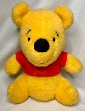 "Vintage Sears Walt Disney Productions Winnie The Pooh 10"" Plush Stuffed Animal"