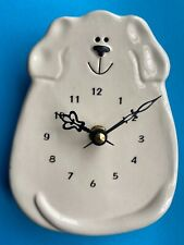 White Dog - Wall Clock