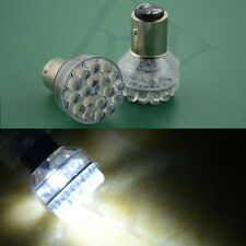 1X 1157 6v 21/5w BAY15D Motorcycle Motorbike LED Stop Tail Bulbs Negative Earth