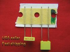 4 pcs  -  .047uf  (0.047uf)  100v  metalized film poly capacitors FREE SHIPPING
