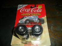 MONSTER TRUCK 4X4 COKE COCA COLA TEAM TURBO DIECAST METAL 1/64 TOUGH RIDERS