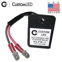 LED Flasher Relay ELFR-1 QD *FAST BLINKER FIX* Universal LED Flasher Relay