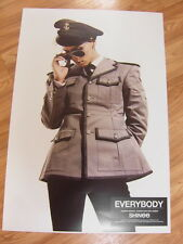 SHINee - [JONGHYUN] EVERYBODY [ORIGINAL POSTER] K-POP *NEW*