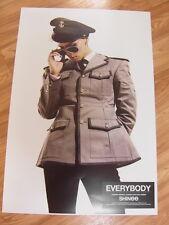 SHINee - [JONGHYUN] EVERYBODY [ORIGINAL POSTER] K-POP *NEW*