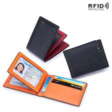 Slim Wallet Pocket Credit Card Holder Minimalist RFID Blocking Driver's License