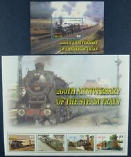 Nevis 2004 Eisenbahn Trains Locomotives Railroad 2012-15 + Block 247 MNH