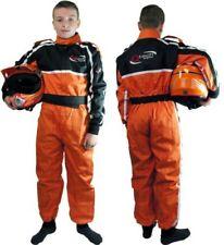Trajes de cuero naranja talla M para motoristas