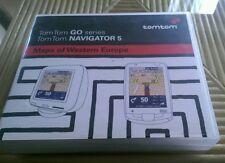 ★ Maps of Western Europe: TomTom GO series, NAVIGATOR 5 ★