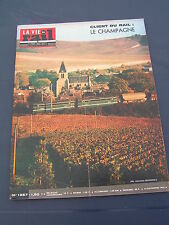 Vie du rail 1972 1367 AY AVENAY CHATILLON SUR MARNE EPERNAY DAMERY RETOURNEMER