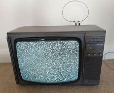"RETRO VINTAGE PHILIPS 16CT2016/256 PORTABLE 16"" TELEVISION RARE RETRO GAMING TV"