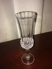 Crystal D`Arques Long Champ Crystal Champaigne Flutes 5 Available