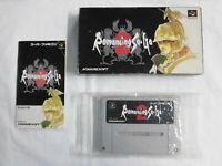 W3646 Nintendo Super Famicom Romancing Saga 2 Japan SFC SNES w/box
