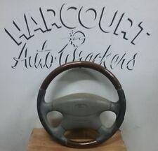 Ford falcon AU woodgrain leather steering wheel