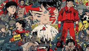 Akira Animation AK04 A3 POSTER ART PRINT BUY 2 GET 3RD FREE