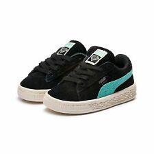 Puma Suede Diamond Inf Kinder Sneaker Schwarz 365712 02