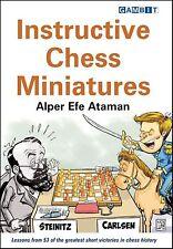 Instructive Chess Miniatures. By Alper Efe Ataman. NEW CHESS BOOK