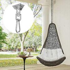 360° Hammock Hook Swing Chair Ultimate Hanging Kit Stainless Steel Heavy Duty