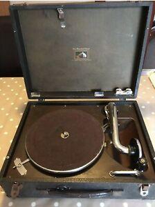 hmv portable gramophone model 99