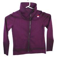 Reebok CrossFit Women's Plum Performance Full-Zip Track Jacket AX9719 Size XL