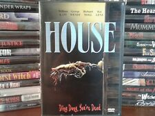 House (DVD, 2001) Includes HOUSE 2 Limited to 20, 000 Copies) Rare  OOP