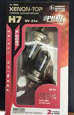 COPPIA LAMPADE H7 XENON TOP PILOT +120% VISIBILITA 4800°K OMOLOGATE