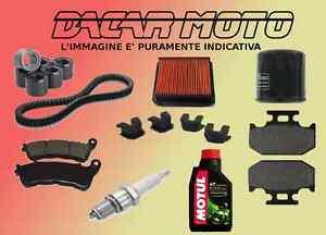 KIT TAGLIANDO PIAGGIO SUPER HEXAGON 125 GTX 2001 2002 CINGHIA - RULLI - ALTRO